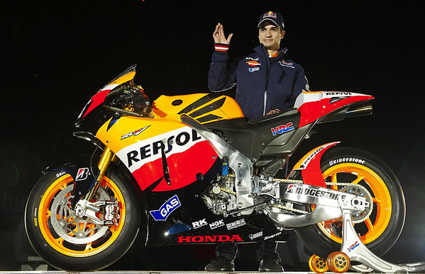 Dani Pedrosa at Madrid