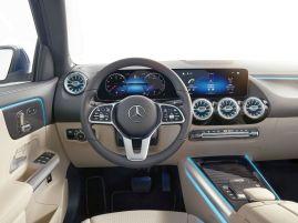 Kokpit Mercedesa GLA.