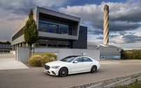 Mercedes-Benz S-Klasse Presse Fahrvorstellung. Immendingen 2020Mercedes-Benz S-Class press test drive. Immendingen 2020