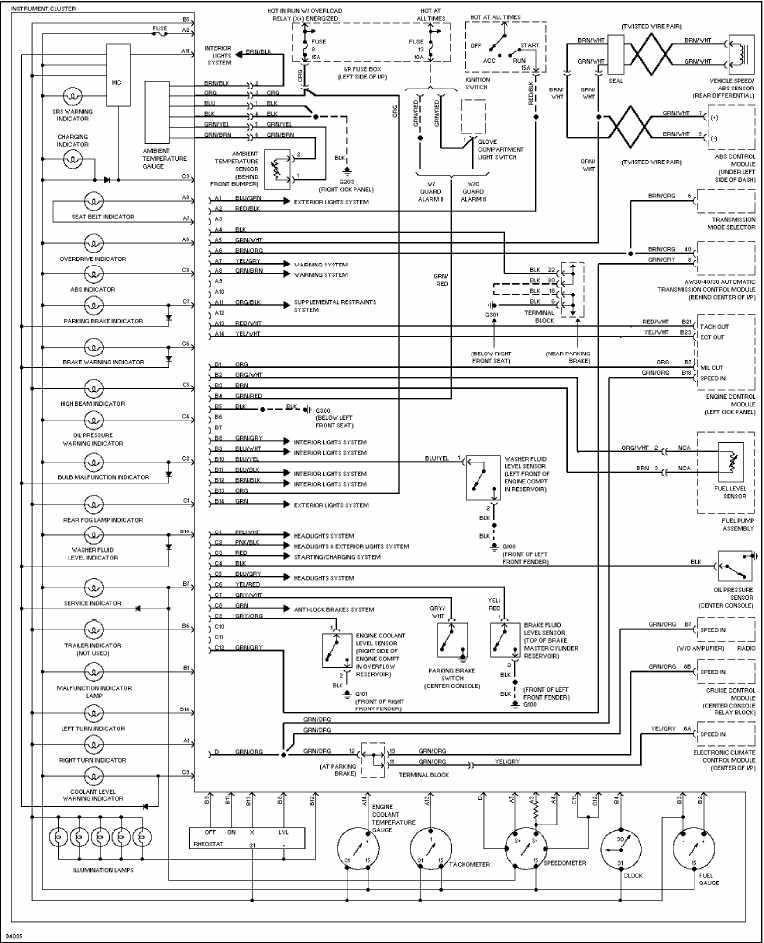 2002 volvo v70 fuse panel diagram