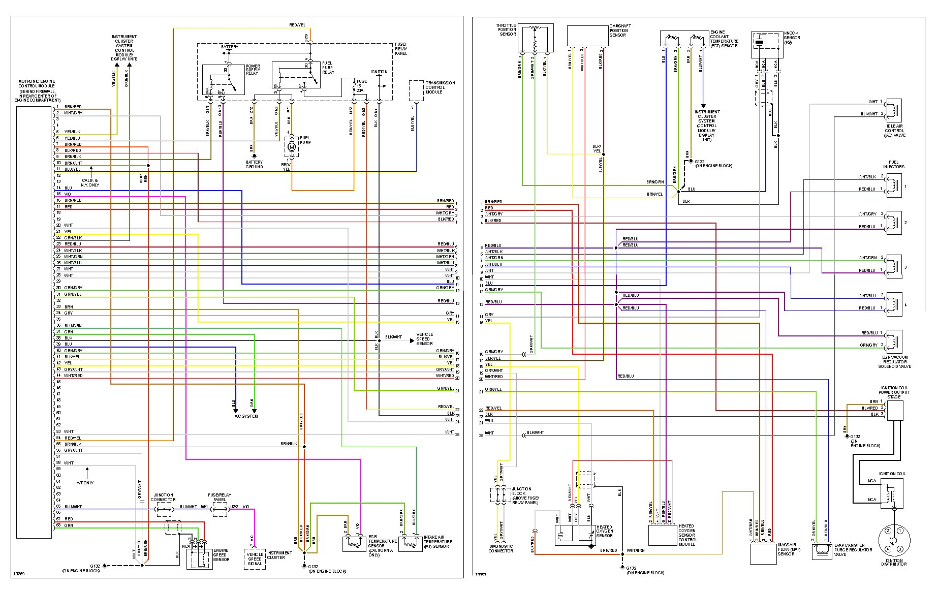 how to read vw wiring diagrams  | efcaviation.com