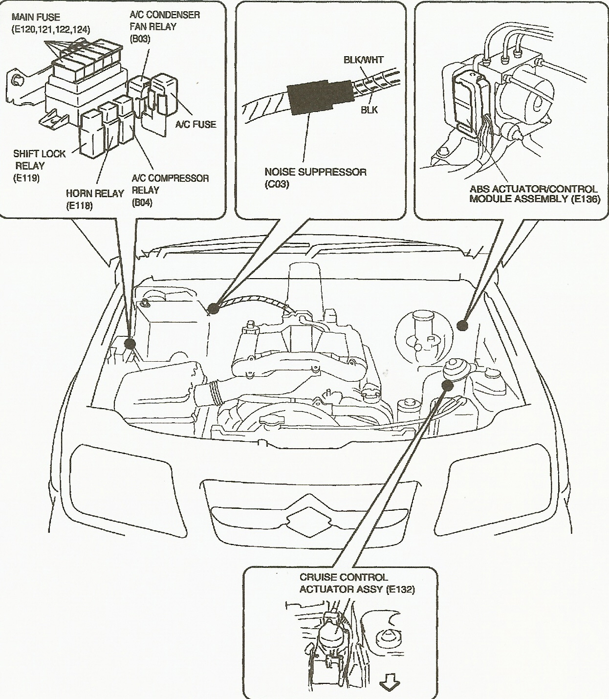 Grand Vitara Fuse Box Location