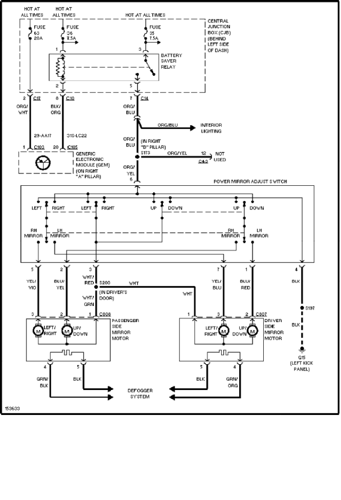 Ford Focus Wiring Diagram Manual Original Readingrat Net
