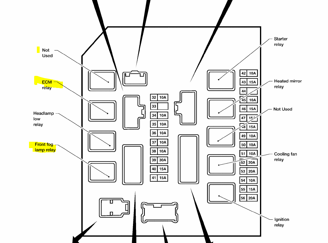 Nissan Versa Fuse Box Diagram
