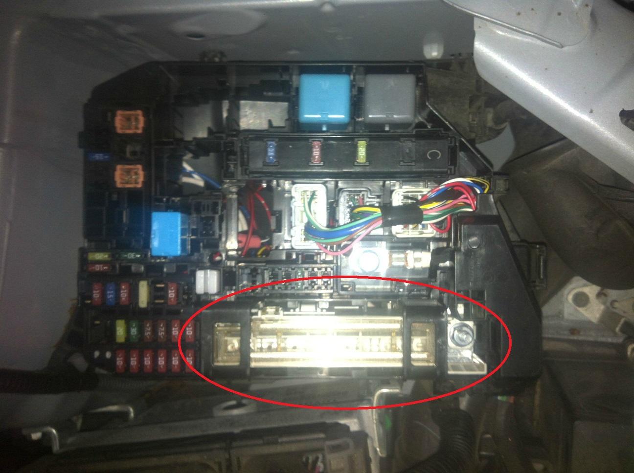 2008 Toyota Matrix Fuse Box Wiring Library Corolla Diagram