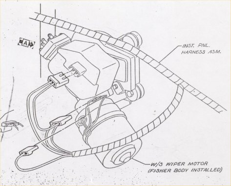 67 Camaro Windshield Wiper Motor Wiring Diagram. Engine