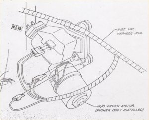 1967 NOVA WIPER MOTOR WIRING DIAGRAM  Auto Electrical