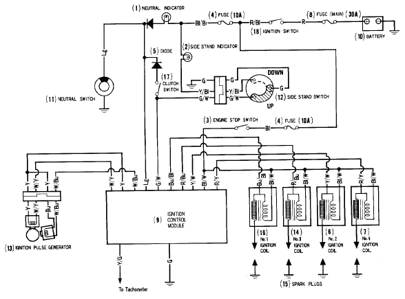 honda accord ignition wiring diagram TpaJMgp?resize\\\\\\\=588%2C435 pioneer dehx191ub wiring diagram pioneer deh x1910ub wiring Basic Electrical Wiring Diagrams at bayanpartner.co