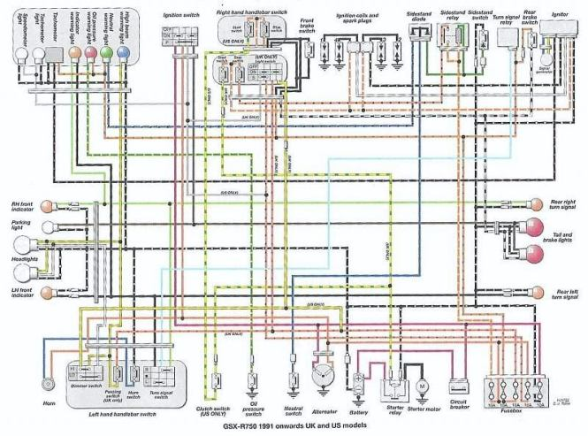 suzuki gsxr wiring diagram wiring diagram gsxr 750 wiring diagram image about