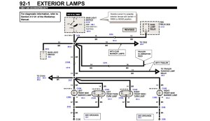 1997 Ford F 350 Tail Light Wiring Diagram  Somurich
