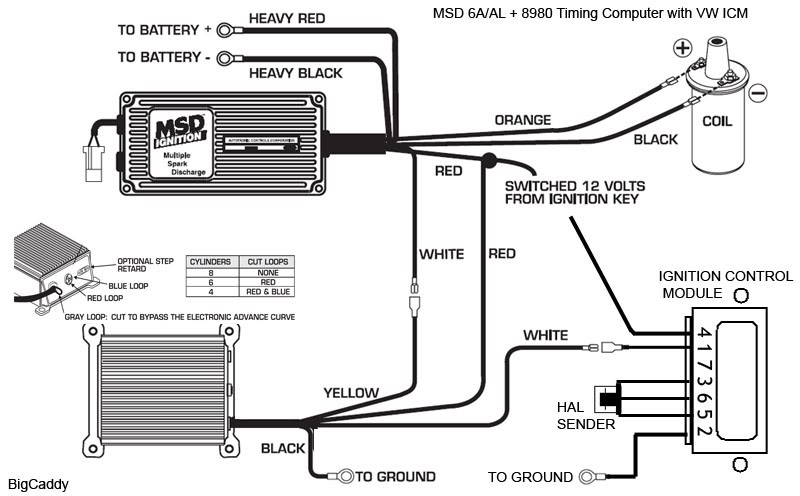 6a msd box wiring diagram - dolgular, Wiring diagram