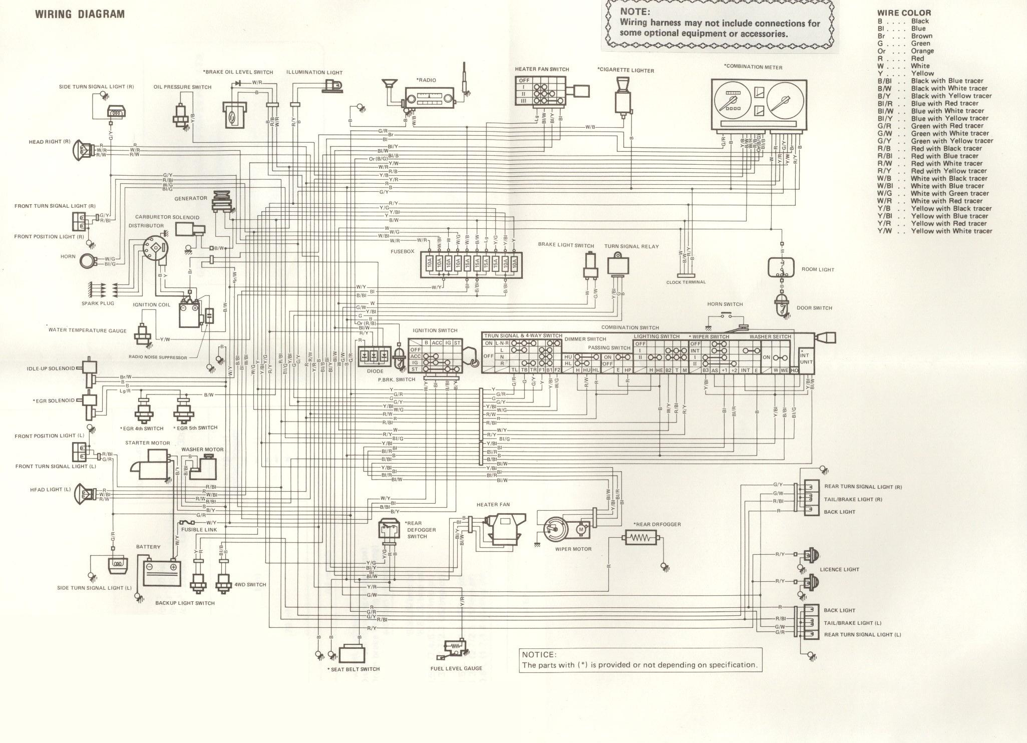 87 Suzuki Samurai Ignition Wiring Diagram