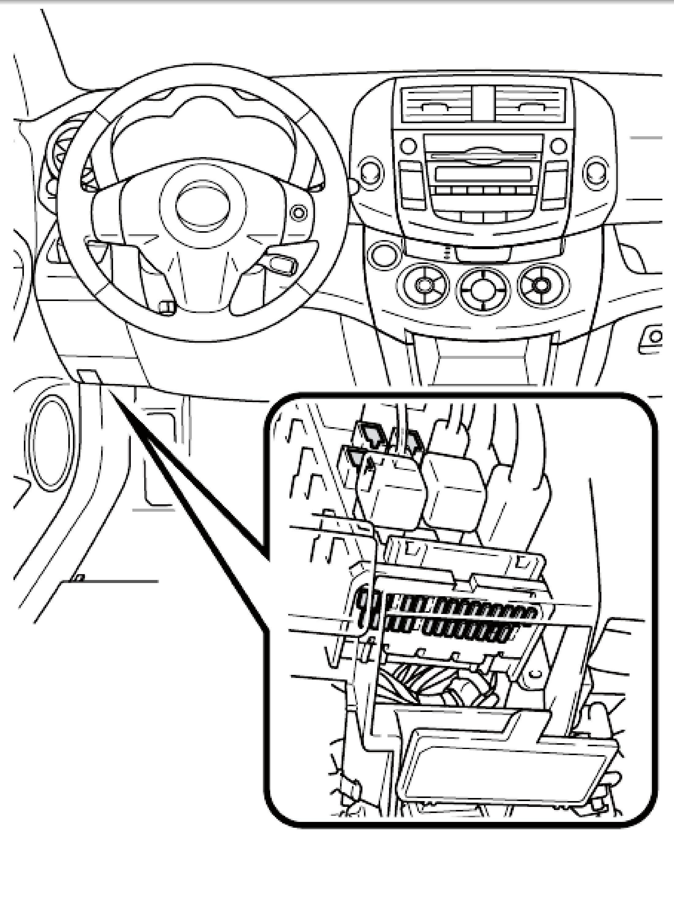 Toyota Corolla S Fuse Box Diagram