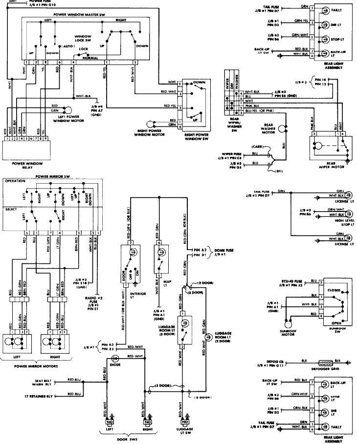 Bmw e window switch wiring diagram