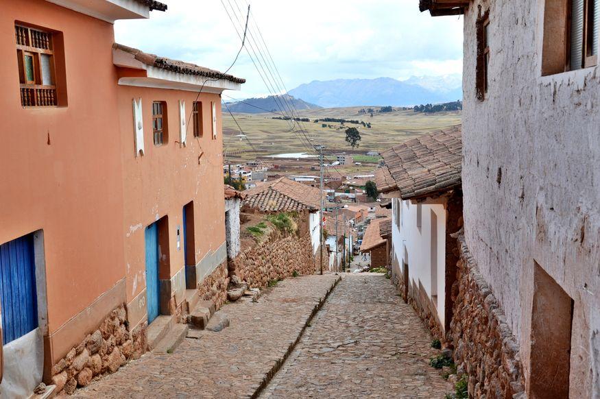 ирригационная система инков и устройство города чинчеро