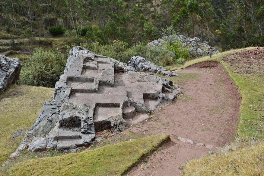 Чинканы в каменоломне в Чинчеро