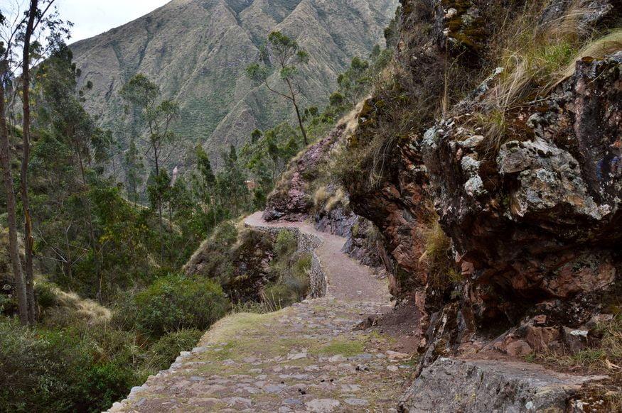 Дорога инков в священной долине