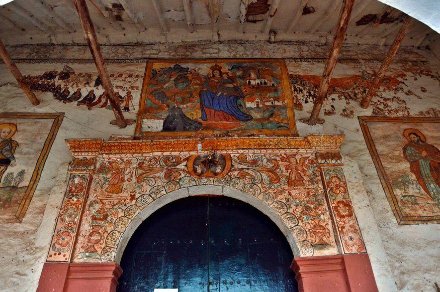 Росписи храма в Чинчеро Перу