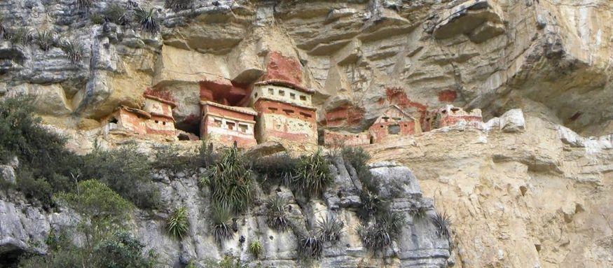 Чачапойяс Chachapoyas руины в джунглях Перу