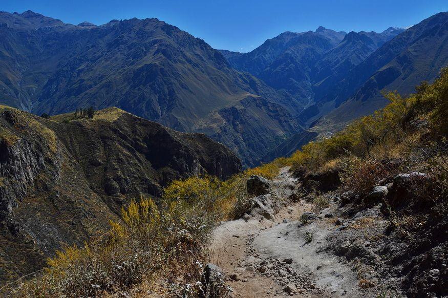 Тропа для туристов в долине колка
