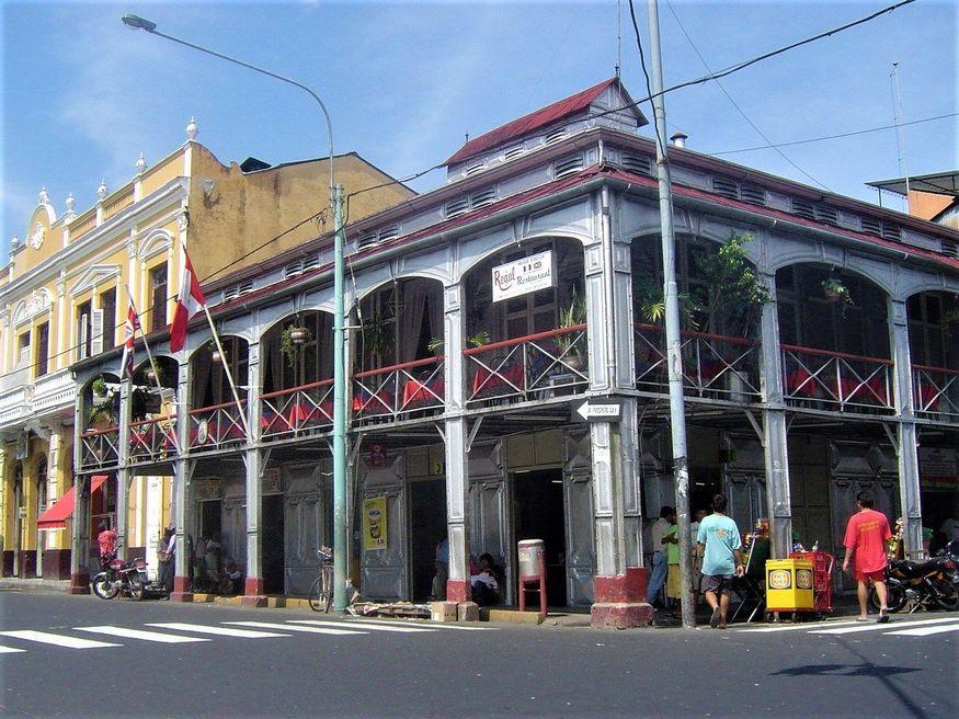 Casa de Fierro (Железный дом Густава Эйфеля) в Икитос Перу