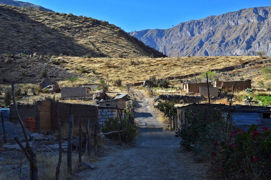 Типичная деревня в Перу