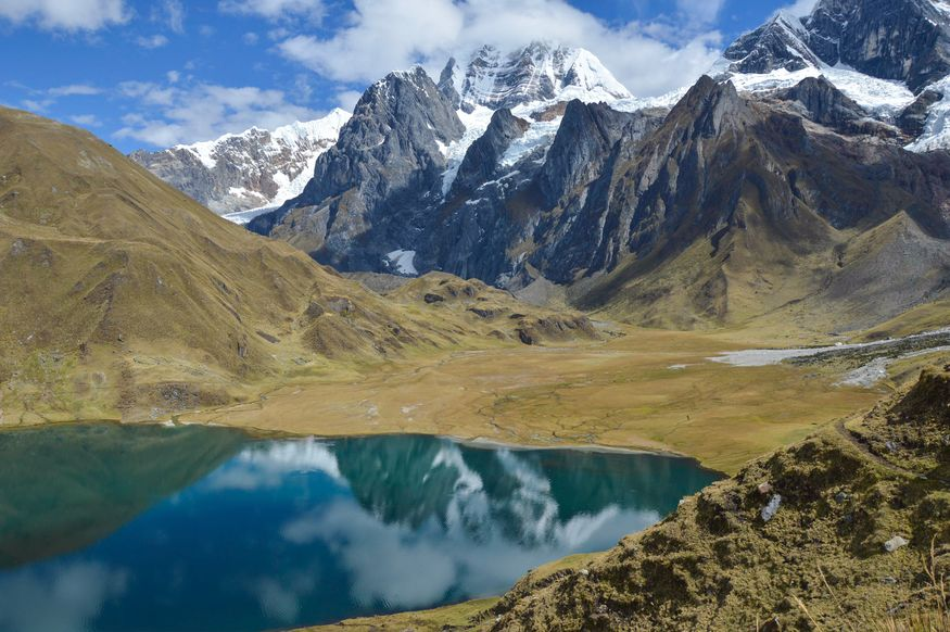 Carhuacocha озеро в Перу