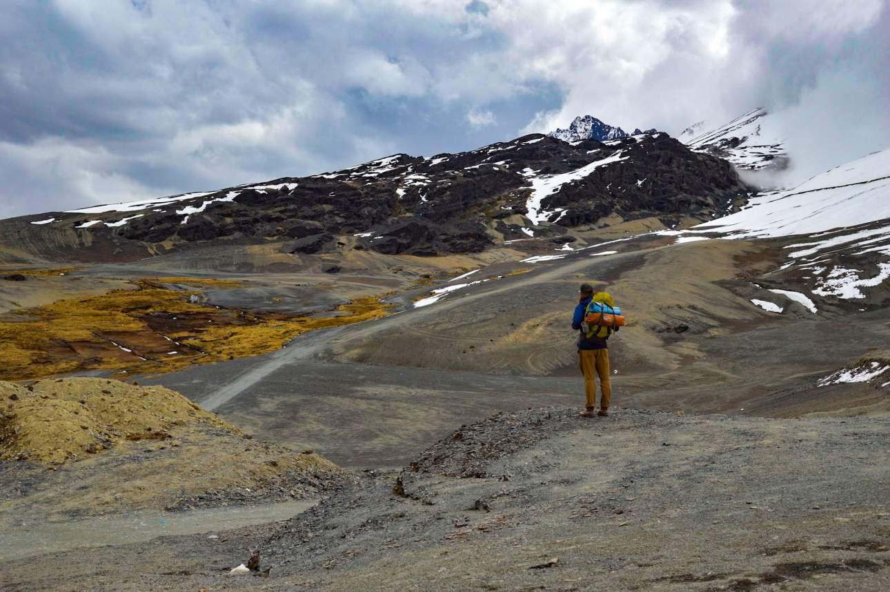 Перевал Ля Кумбре в Боливии