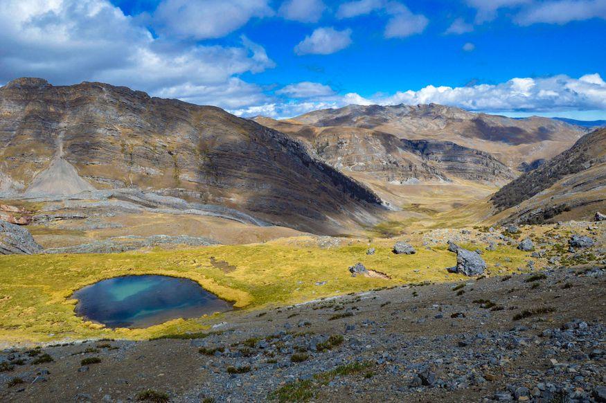 Cordillera Huayhuash пейзажи