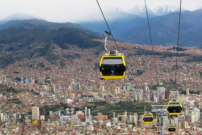 Метро в Ла-Пасе