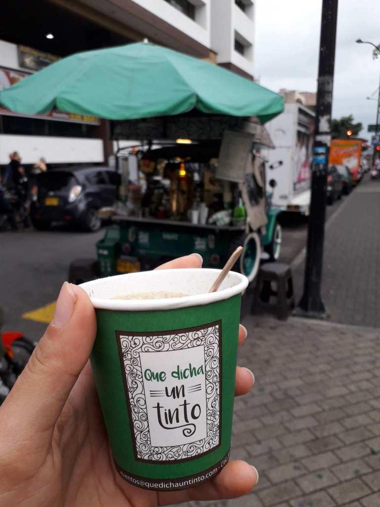 Cafe tinto в Колумбии