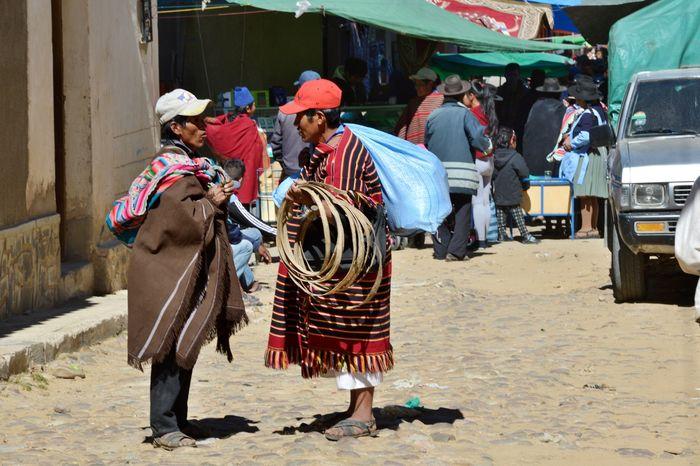 Коренное население Боливии на рынке