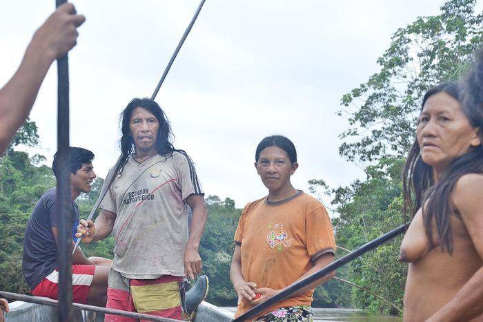 Современные охотники из племени ваорани