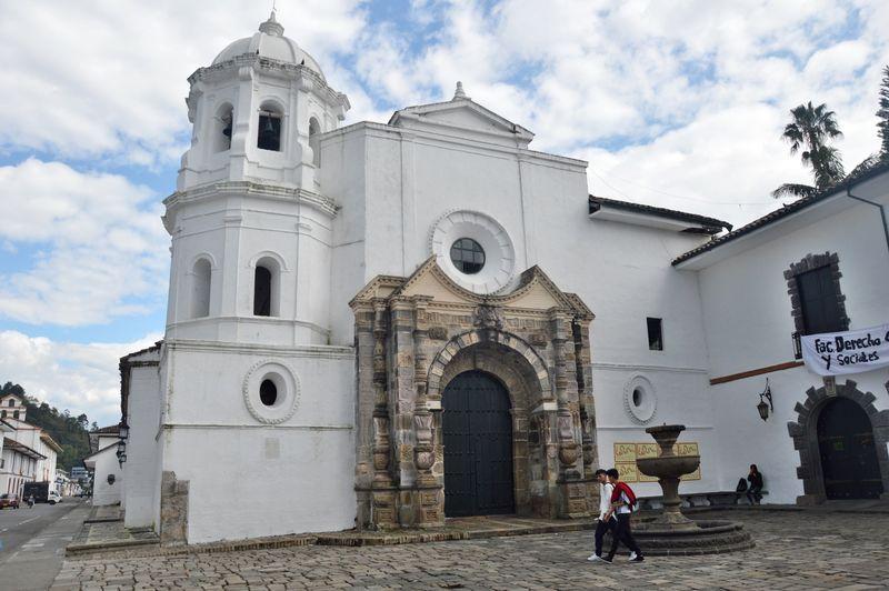 Церковь в историческом центре Попаяна