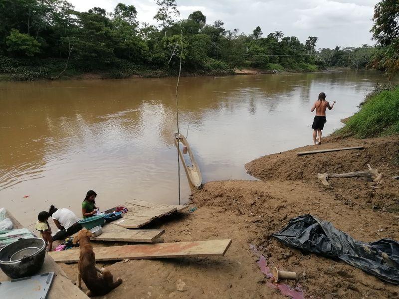 Рыбалка в Ясуни Эквадор