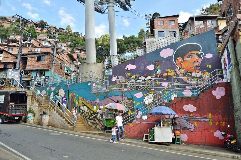 Колумбия - стрит арт
