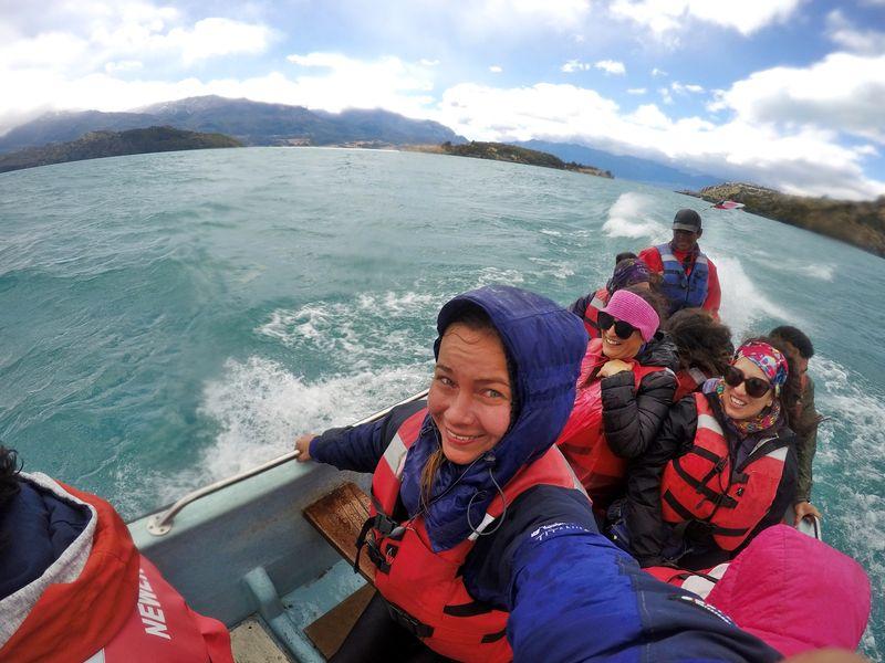Тур на лодке Патагония
