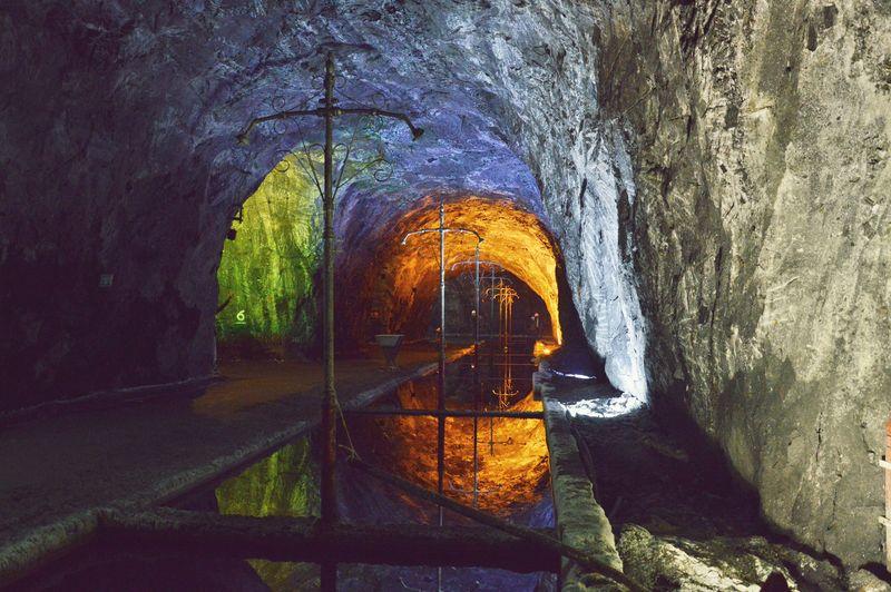 резервуары для растворения соли в шахте в Немоконе