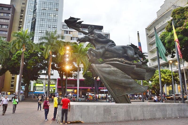 Площадь Боливара Перейра