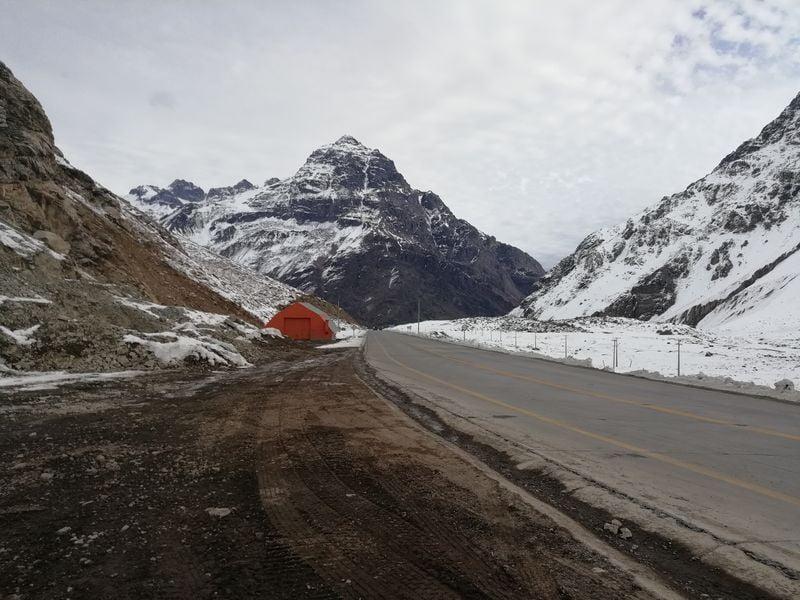 Дорога из Чили в Аргентину