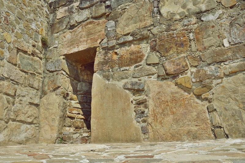 Археологические раскопки Мексика