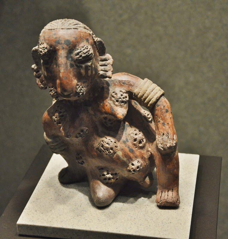 скульуптура культуры шахтовых могил