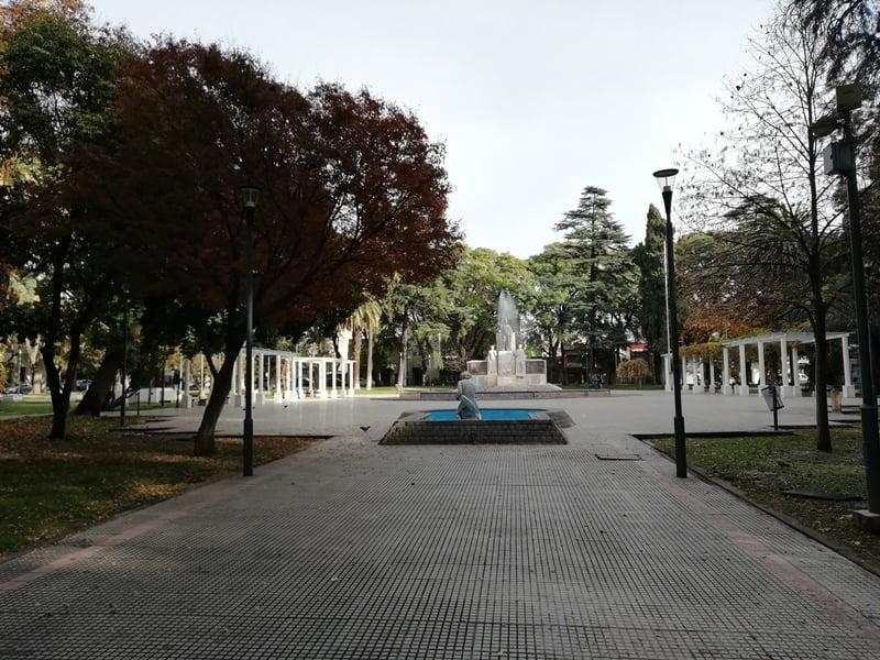 площадь в центре Мендосы