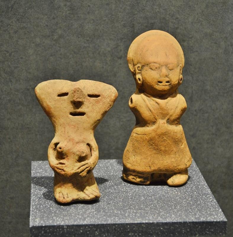 Фигурки из глины Мексика