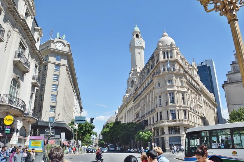Здания в стиле модерн в Аргентине