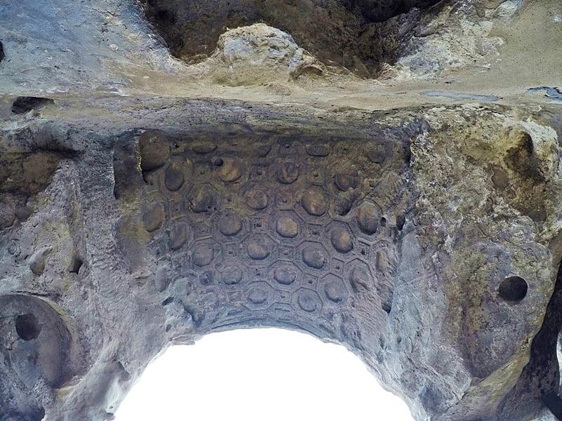 Уплисцихе каменная резьба