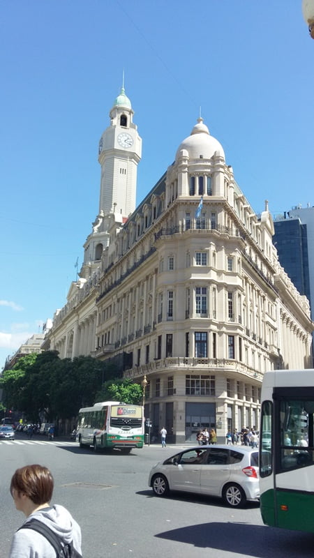Городская застройка Буэнос Айрес