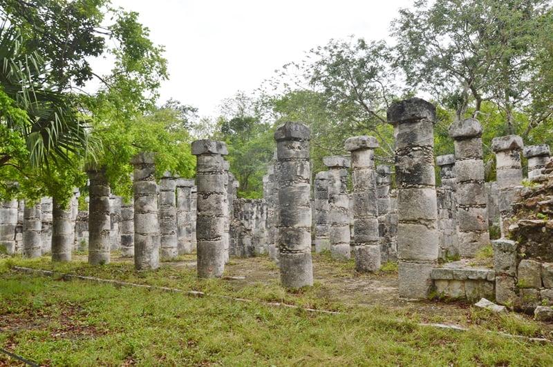 Группа тысячи колонн Чичен Ица