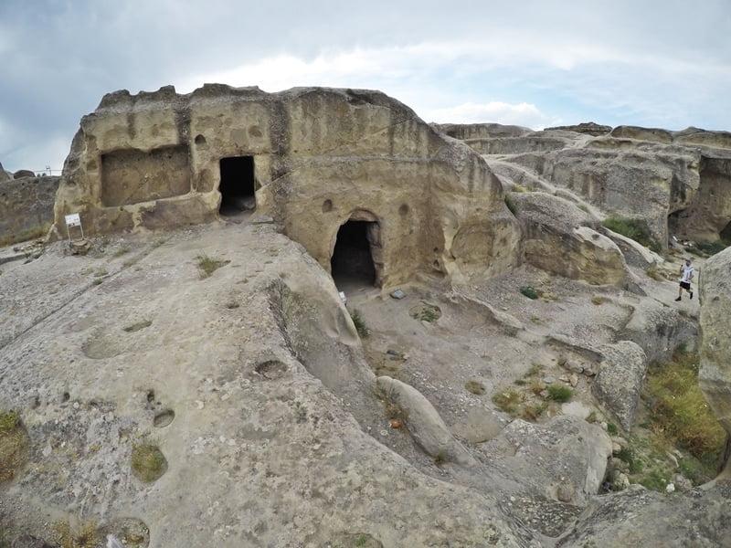 Уплисцихе пещерный город