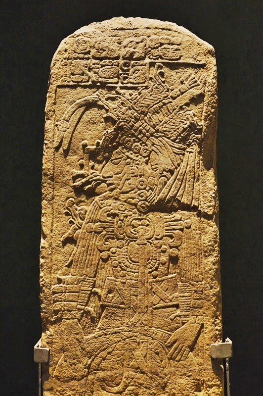 Барельефы майя